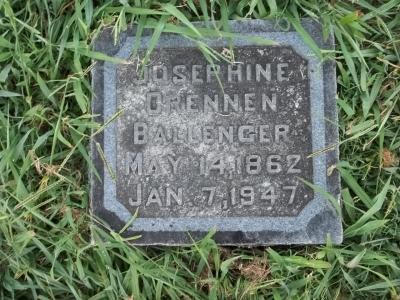Josephine Matilda Josie <i>Drennen</i> Ballenger