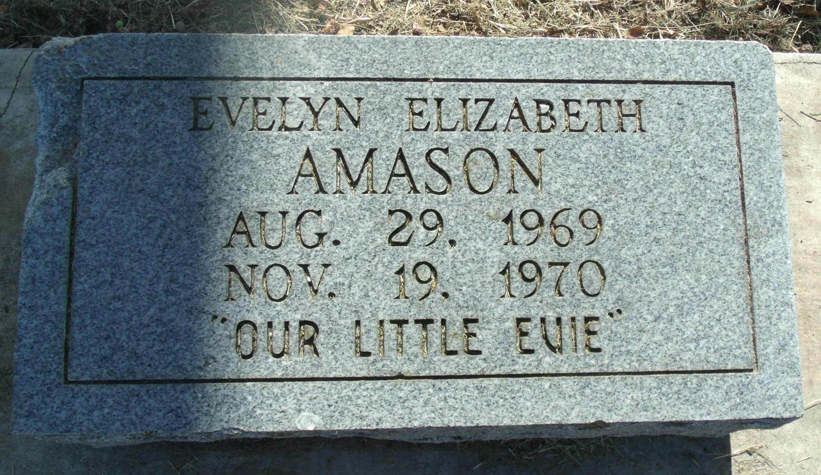 Evelyn Elizabeth Amason