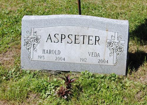 Veda Jane <i>Shinn</i> Aspseter