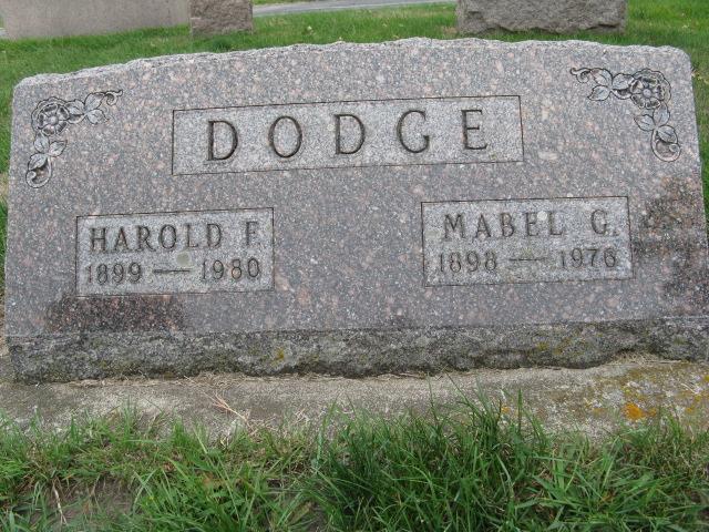 Harold Frances Dodge