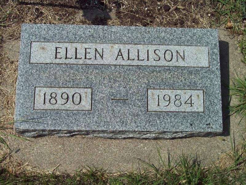 Ellen <i>Larsen</i> Allison