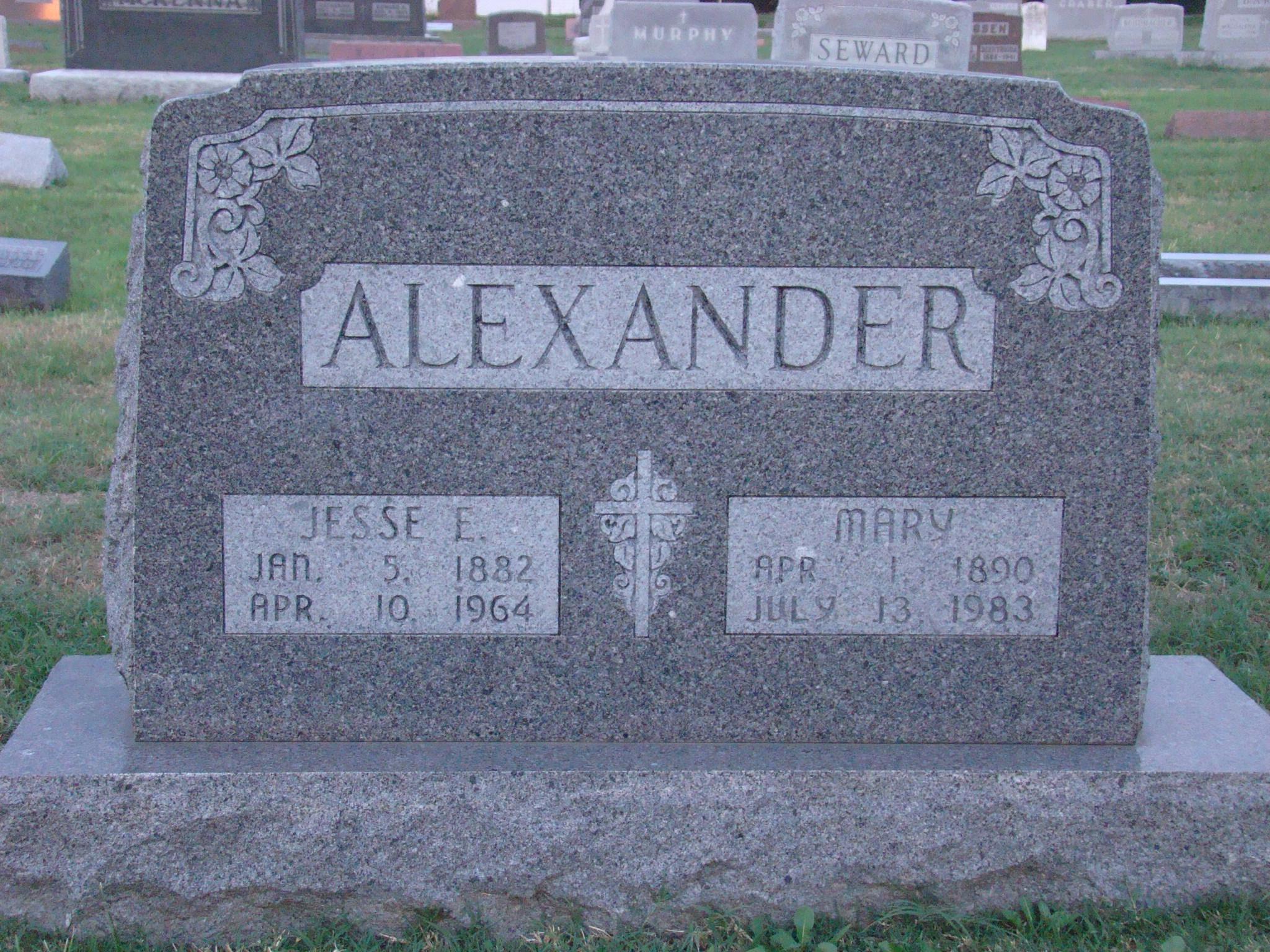 Jesse Edward Alexander
