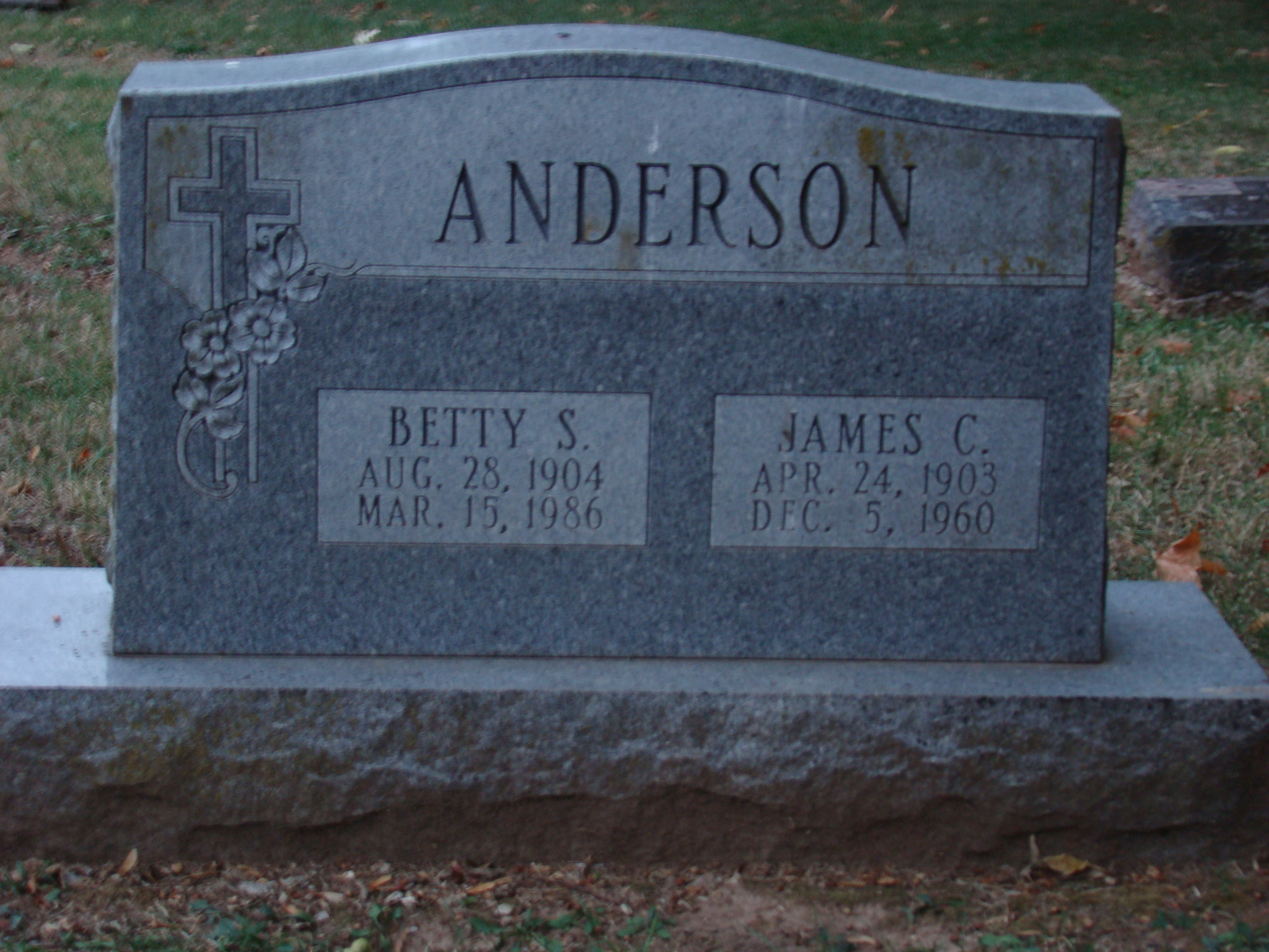 Betty S Anderson