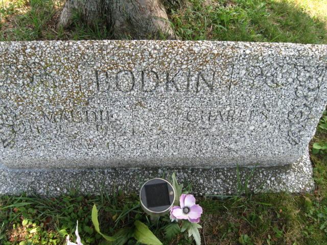 Maudie Bell <i>Cunningham</i> Bodkin