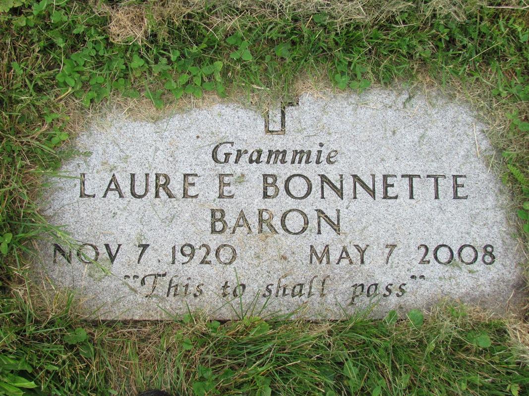 Laure E <i>Bonnette</i> Baron