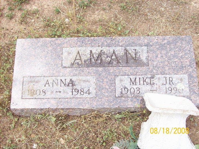 Anna <i>Mathias</i> Aman