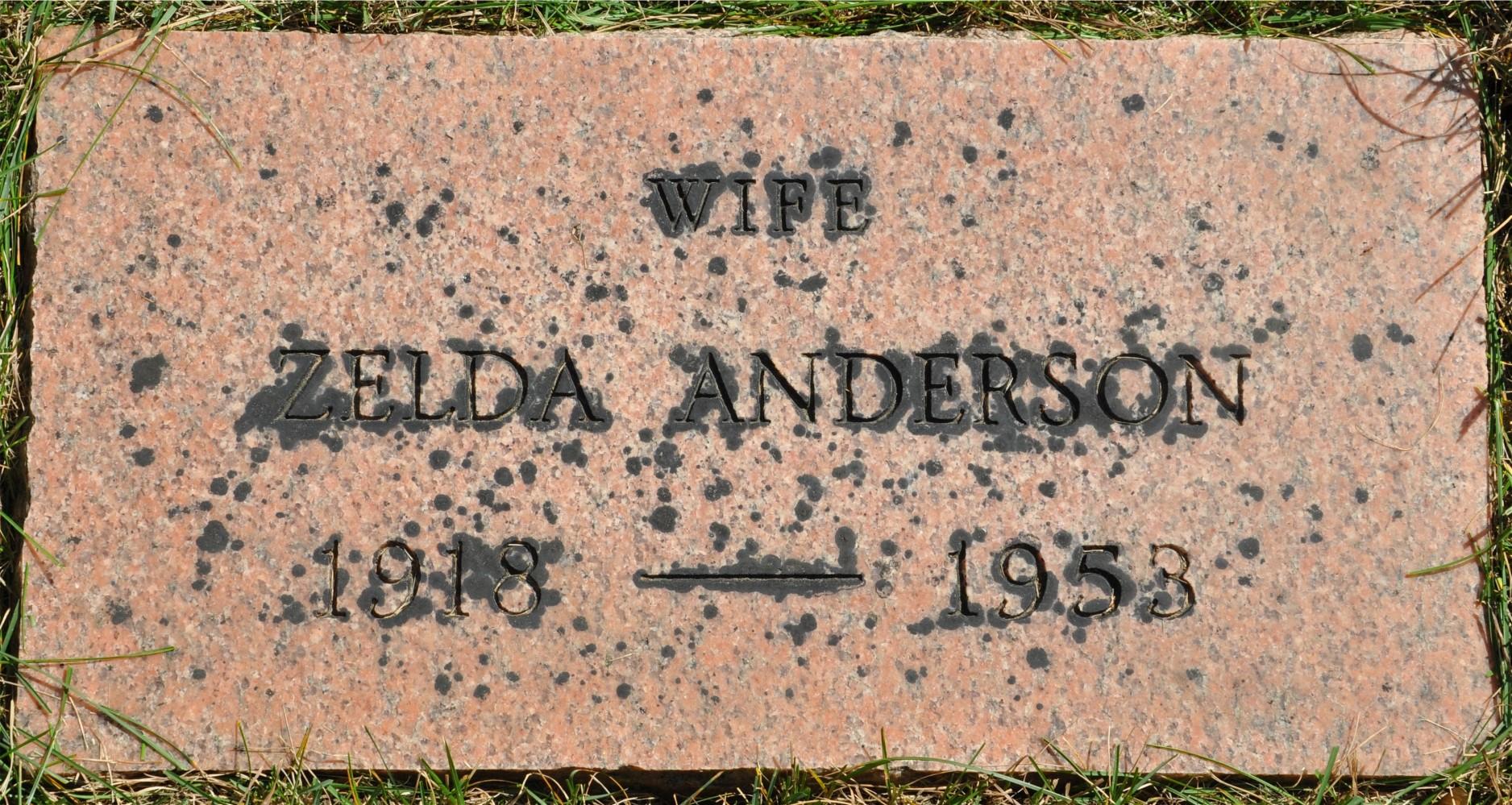 Zelda <i>Zellers</i> Anderson