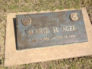 Hattie Marie <i>Jackson</i> Agee