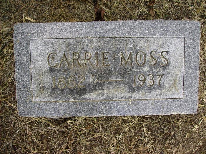 Carrie Moss