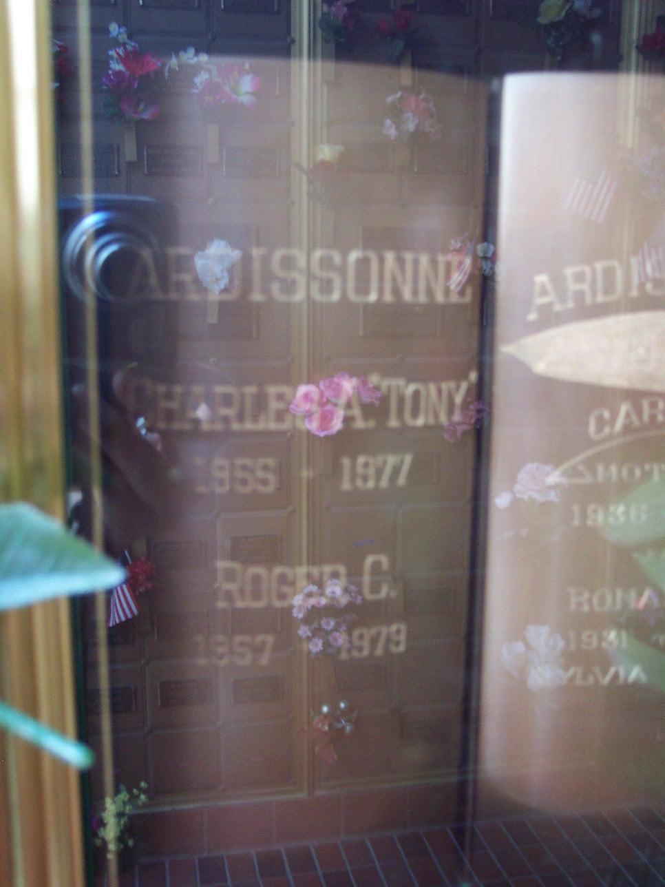 Charley A Tony Ardissonne