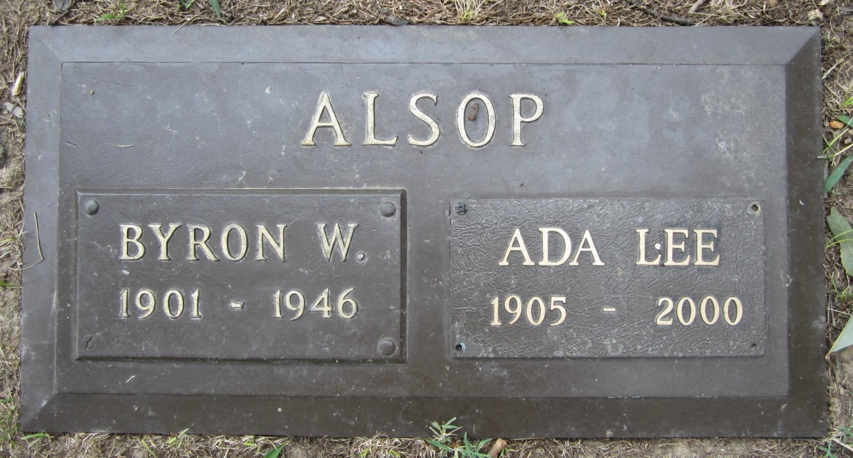 Ada Lee <i>Decker</i> Alsop