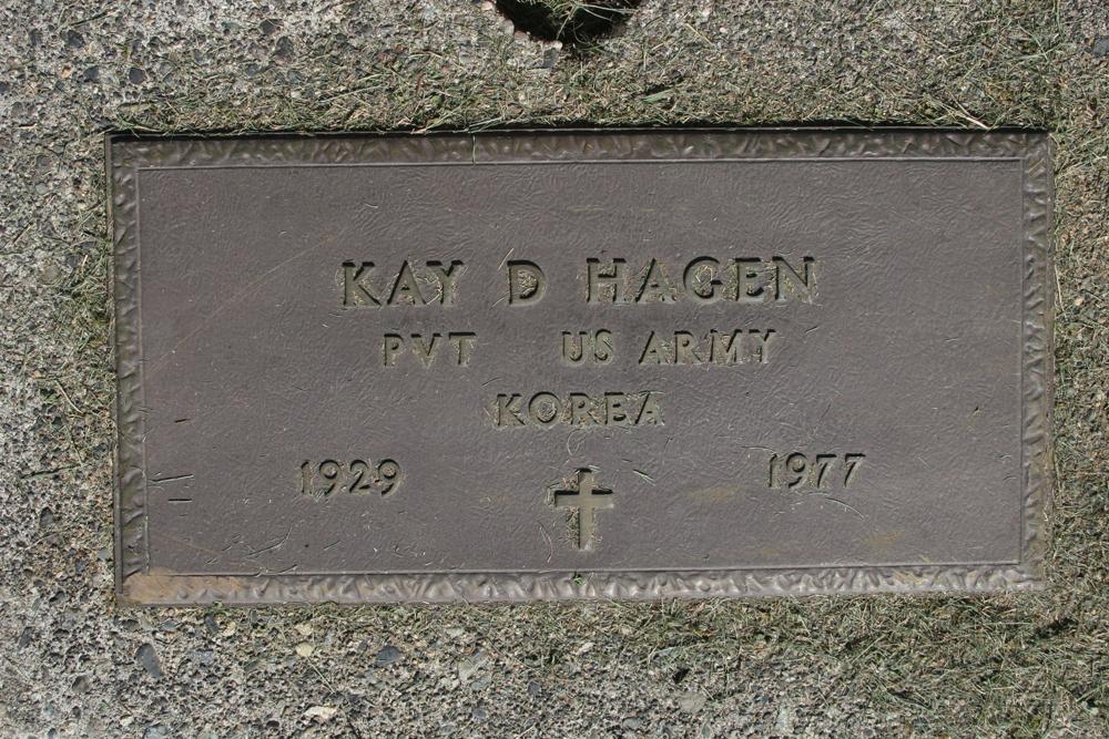 Kay D Hagen