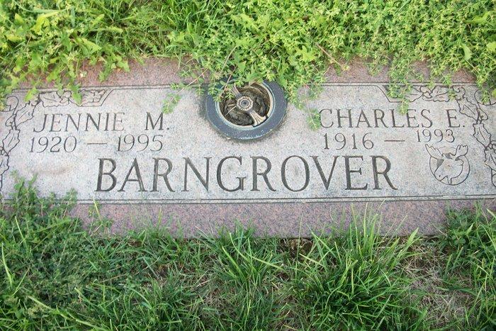 Jennie Marie <i>Braaksma</i> Barngrover