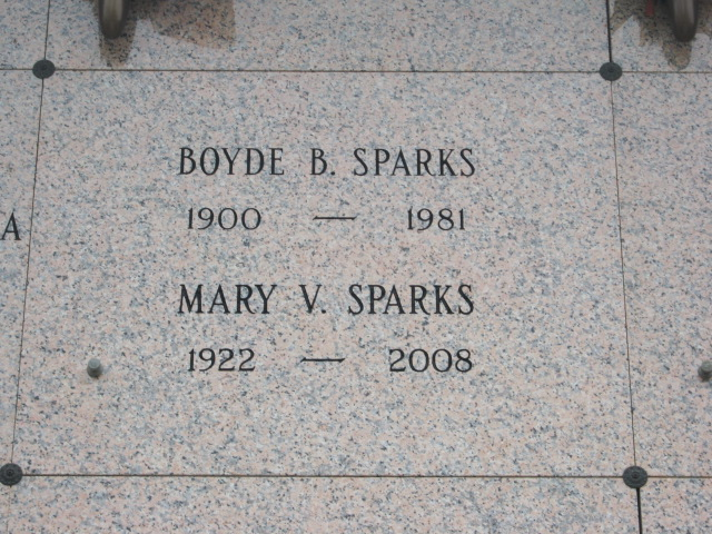 Boyde B Sparks