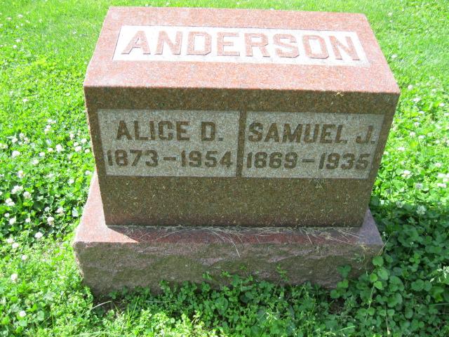 Alice Dean <i>McIntyre</i> Anderson