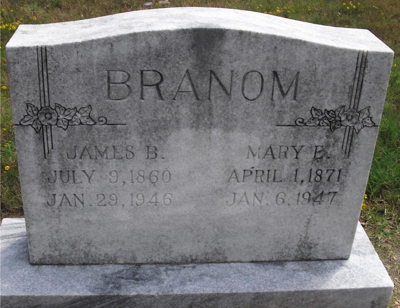 Mary Elizabeth <i>Terry</i> Branum