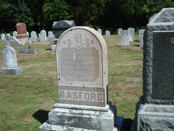 Martha A <i>Clark</i> Basford
