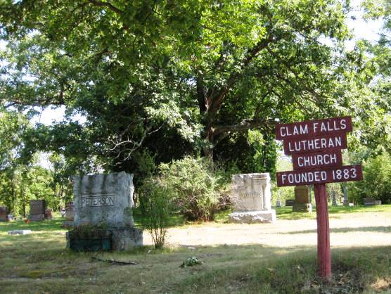 Clam Falls Lutheran Church Cemetery