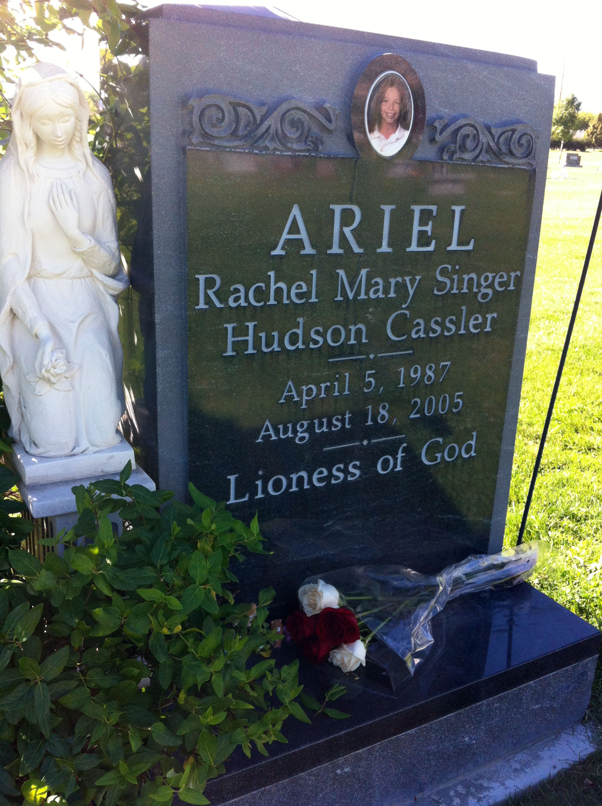 Ariel Rachael Mary Singer (1987-2005) - Find A Grave Memorial