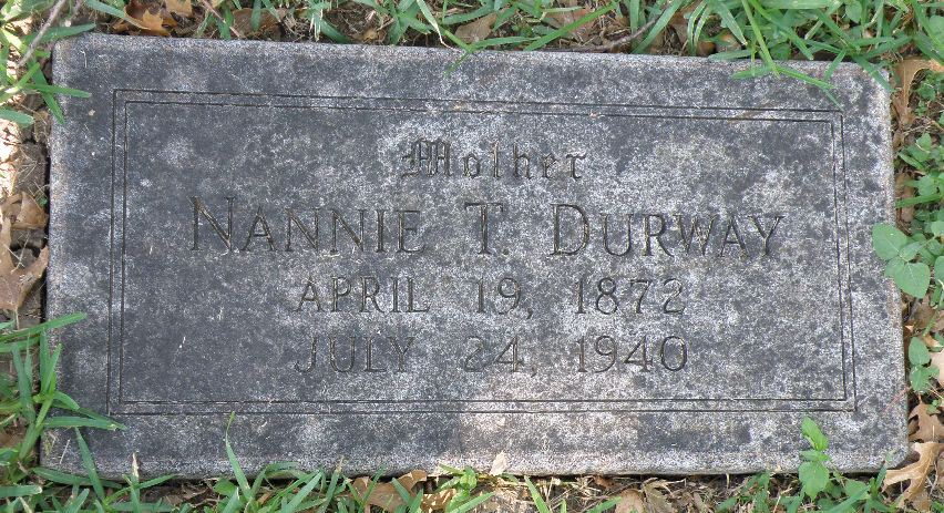 Nannie Tillery <i>Withers</i> Durway