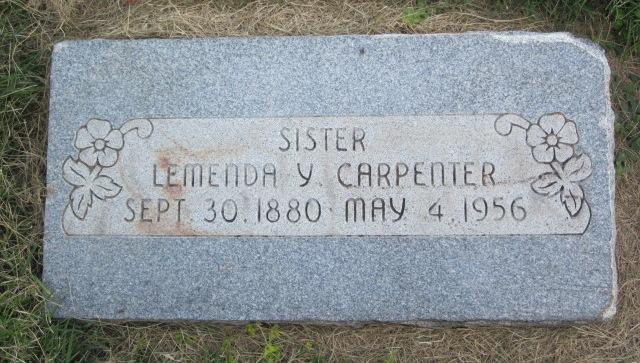 Lemenda Young Minnie Carpenter
