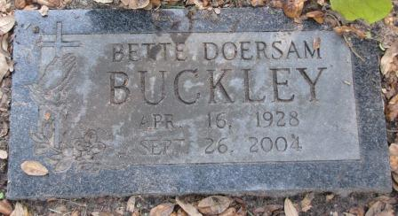 Bette Doersam Buckley
