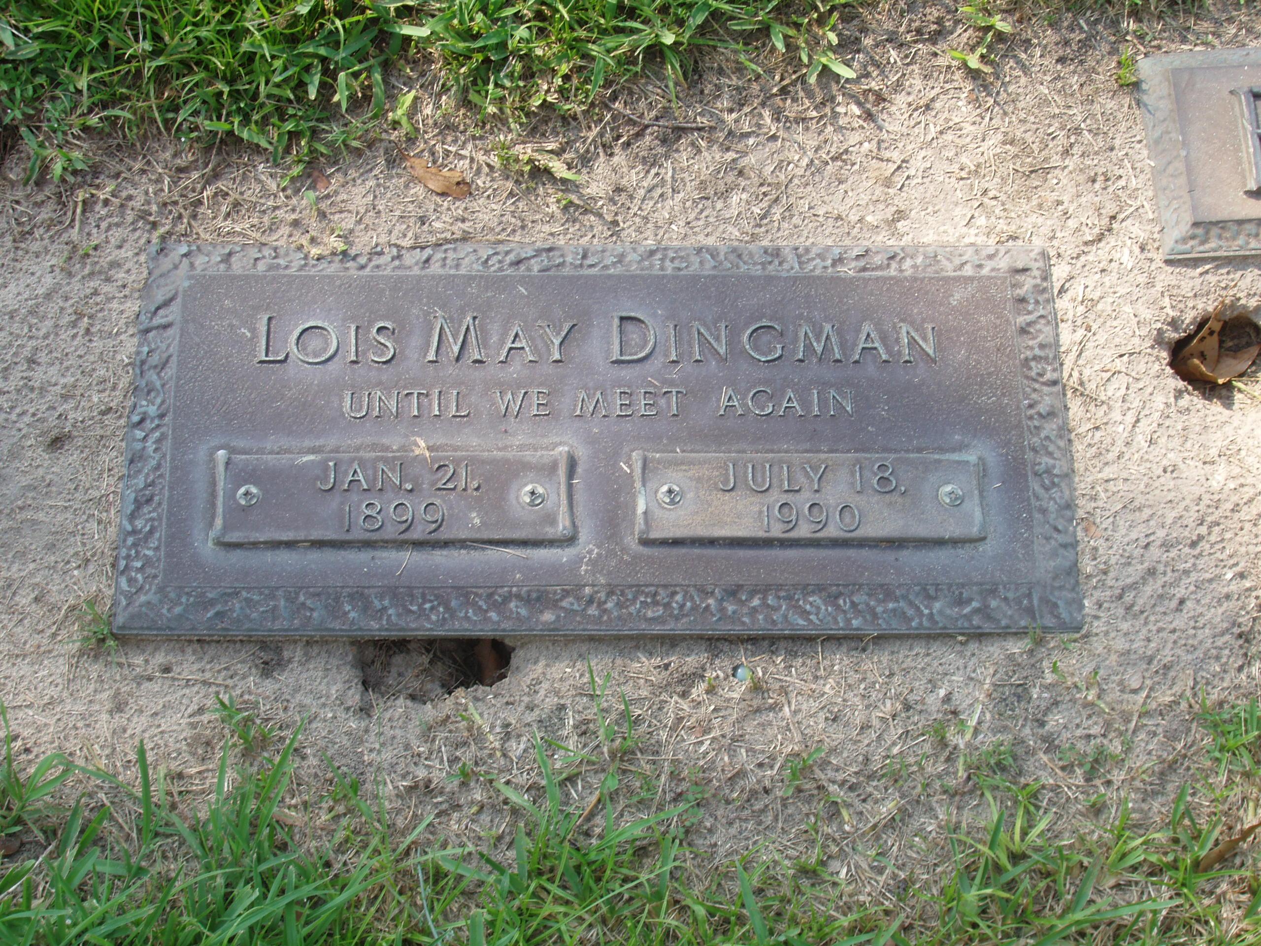 Lois May Dingman