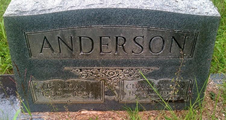 B Sloan Anderson