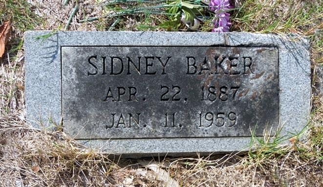 Sidney Baker