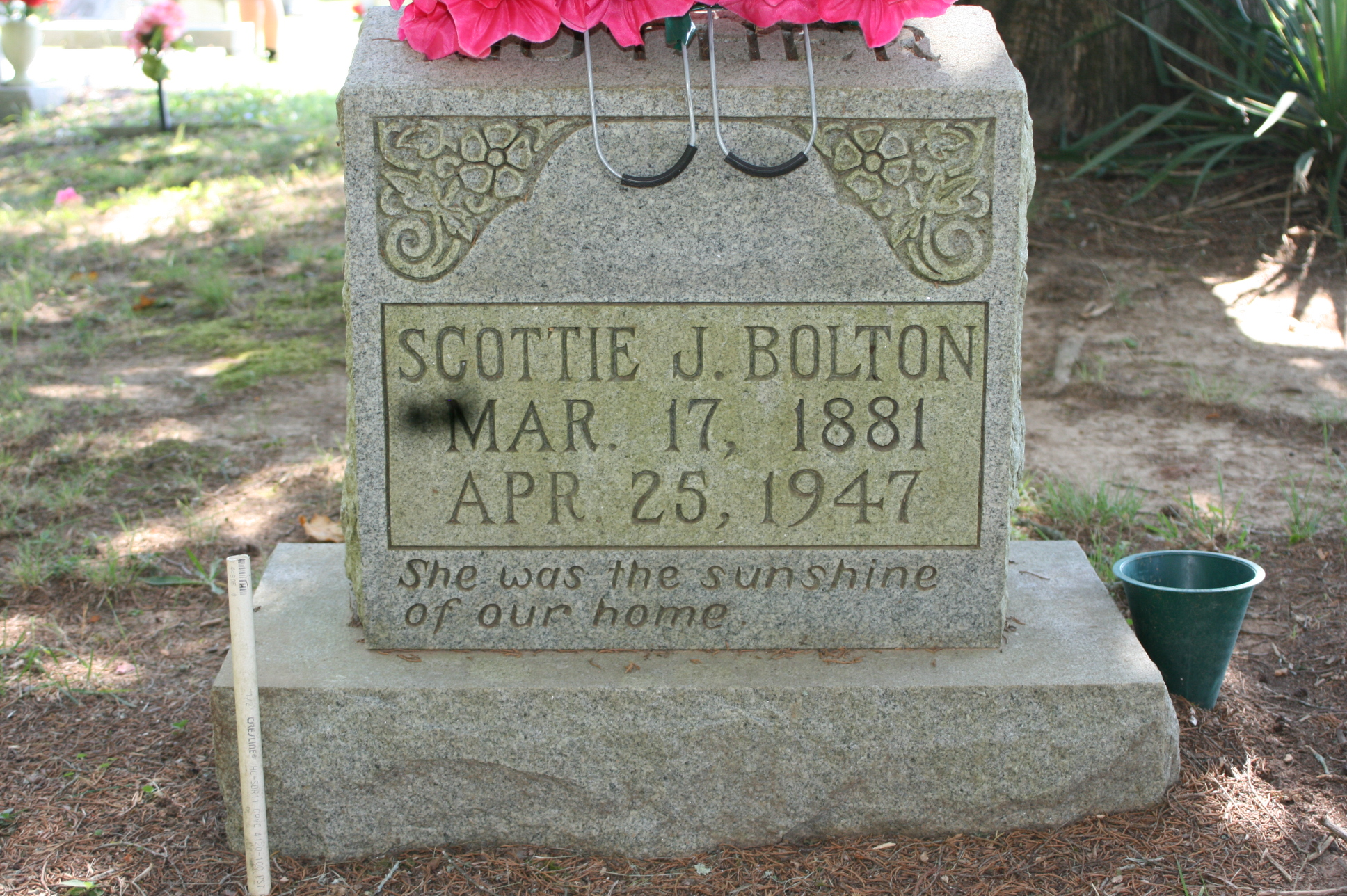 """Mary Jane """"Scottie"""" FOSTER Bolton (1880-1947) - Find A Grave"""