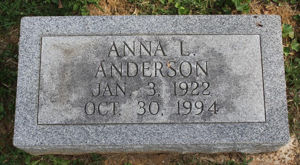 Anna L. Anderson