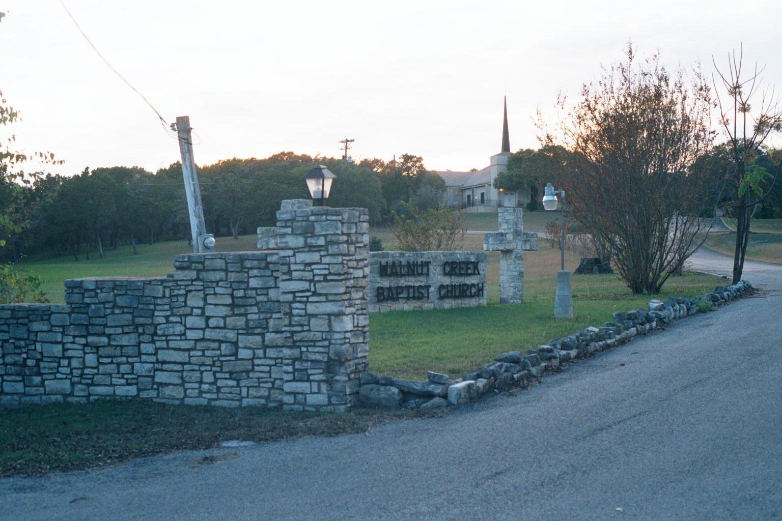 Walnut Creek Baptist Church Cemetery