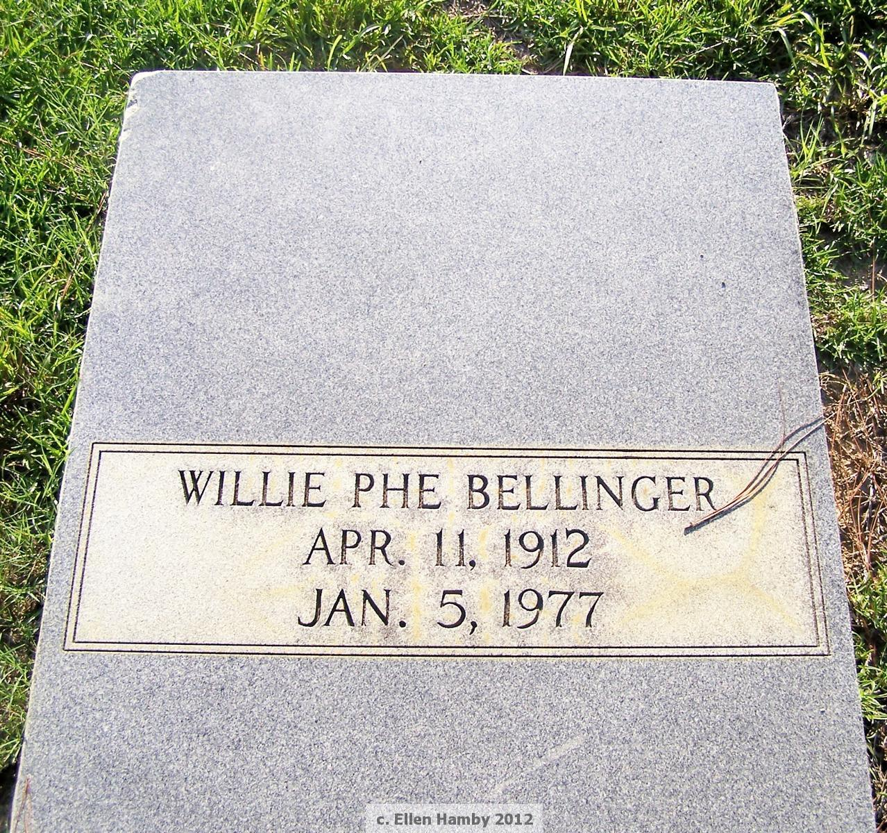 Willie Phe Bellinger