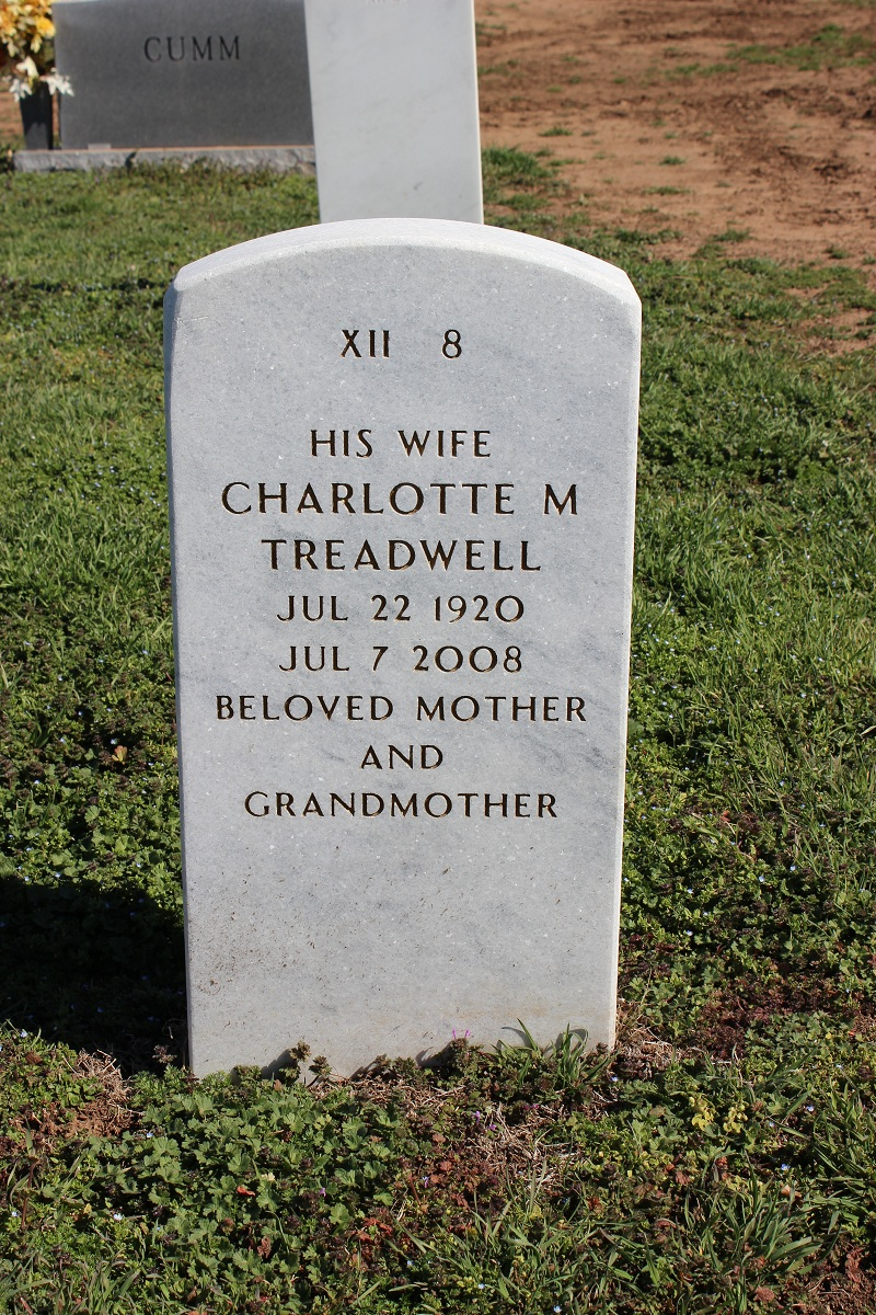 Charlotte Johnnie <i>Johnson</i> Treadwell