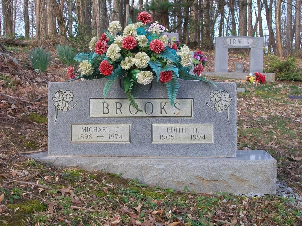 Edith Mae <i>Holt</i> Brooks