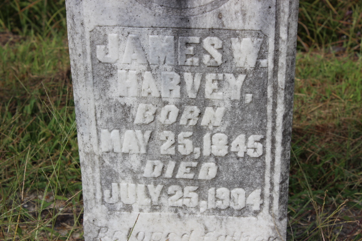 James W Harvey