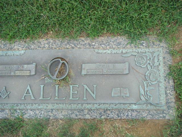 Josie Syvilla <i>Boles</i> Allen