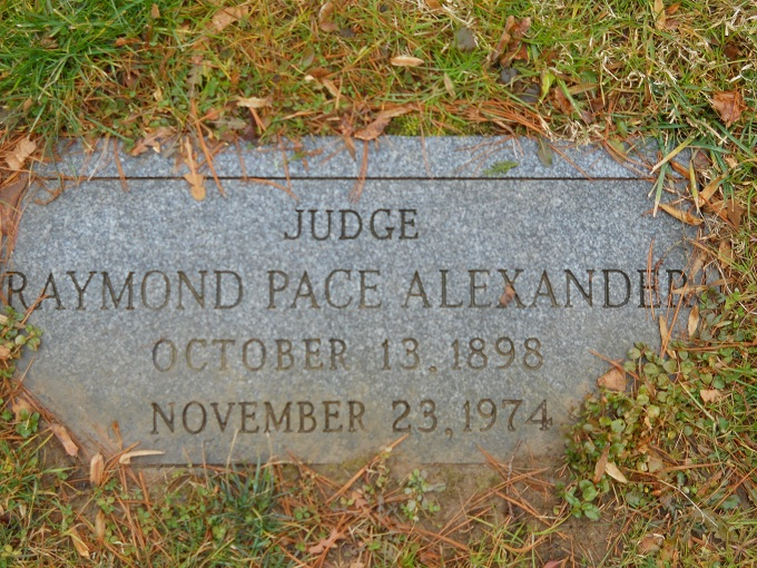 Judge Raymond Pace Alexander