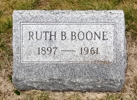 Ruth B. <i>Jenings</i> Boone