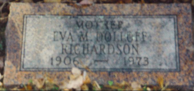 Eva Marguerite <i>Dolloff</i> Richardson