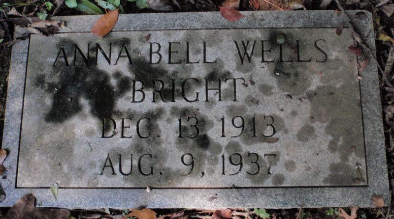 Anna Bell <i>Wells</i> Bright