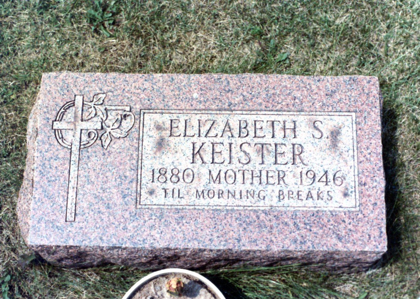 Elizabeth <i>Stethem</i> Keister