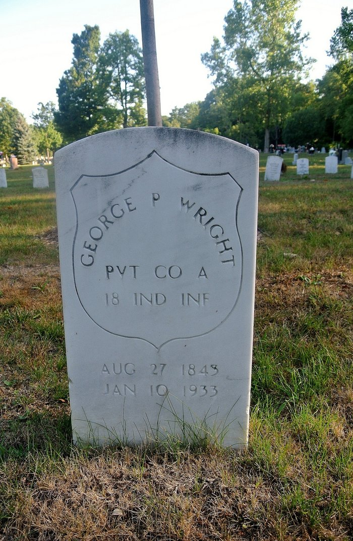 Pvt George P Wright