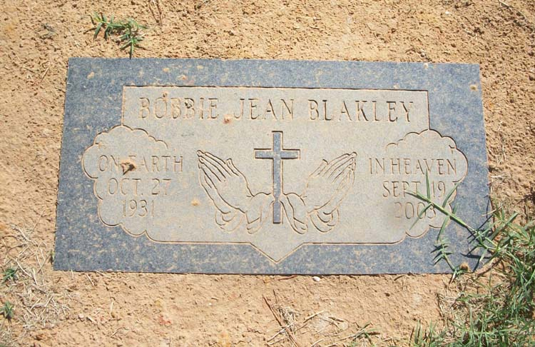 Bobbie Jean Blakley