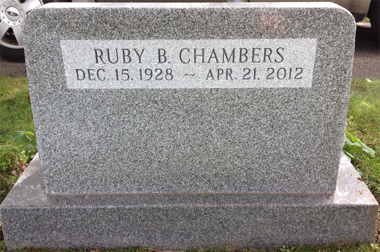Ruby B <i>White</i> Chambers