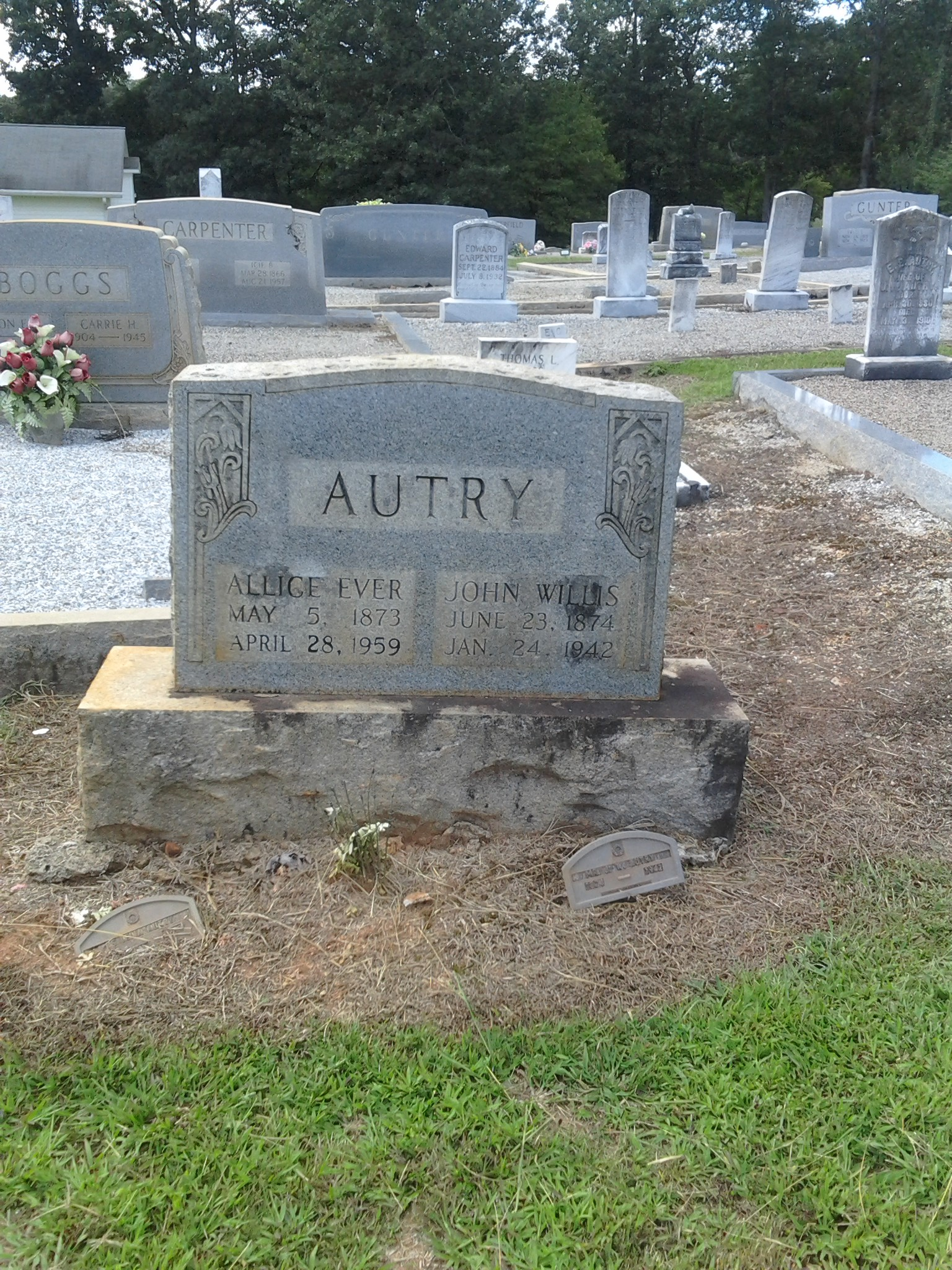 Allice Ever <i>Addington</i> Autry