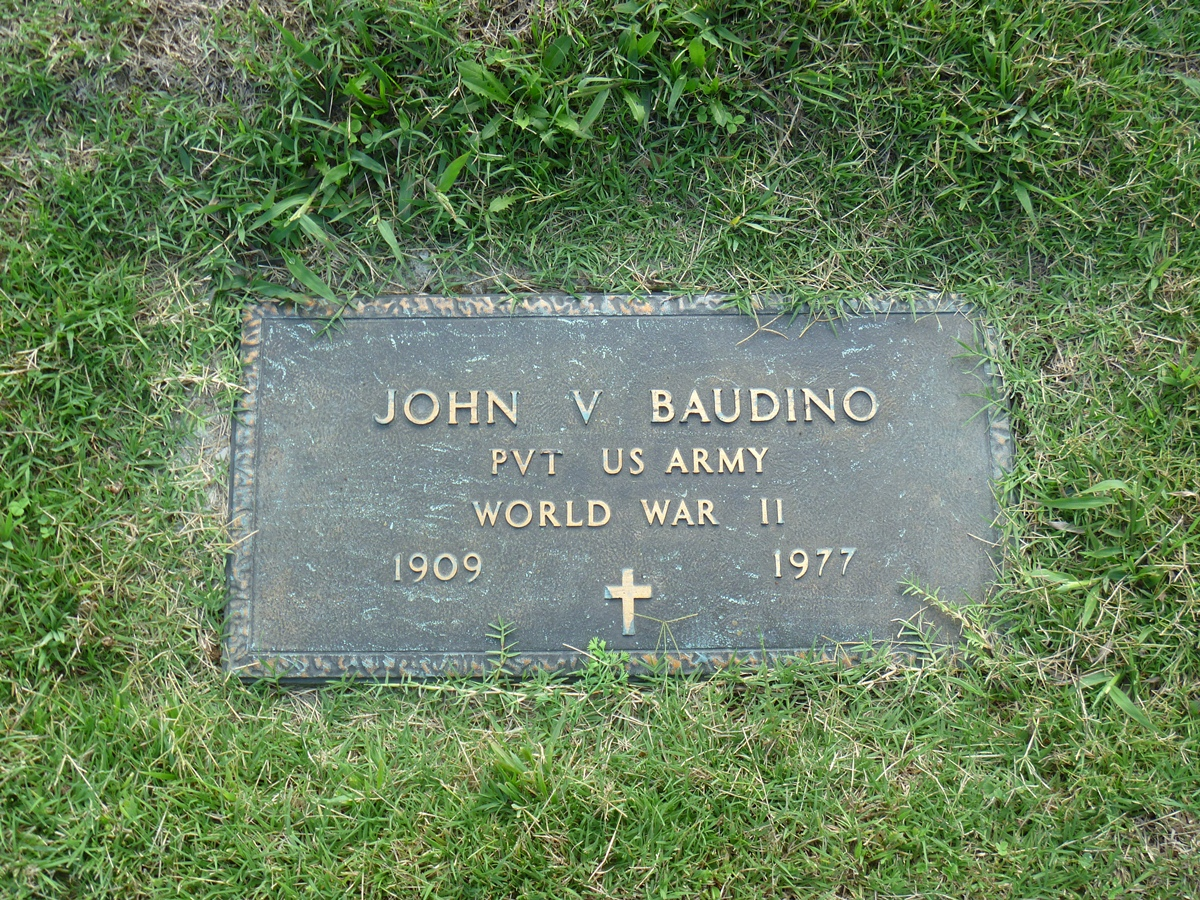 Pvt John V Baudino