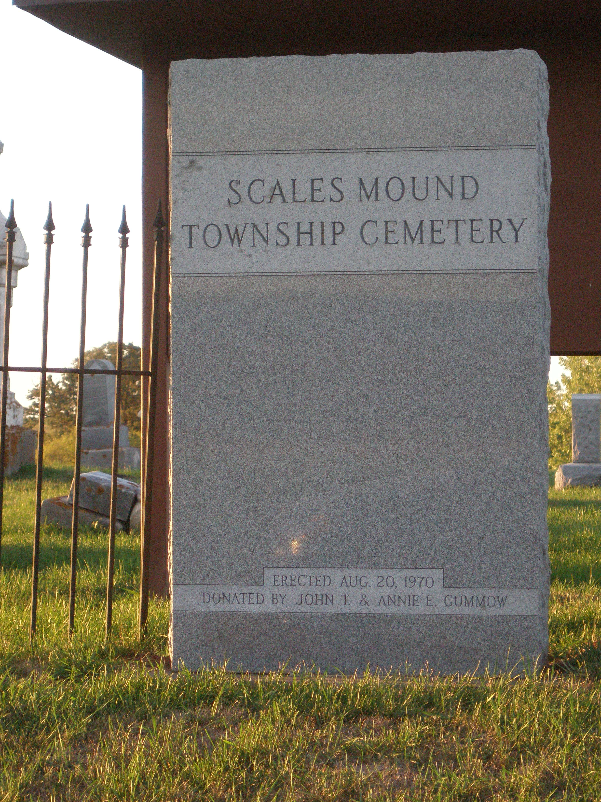 Scales Mound Township Cemetery