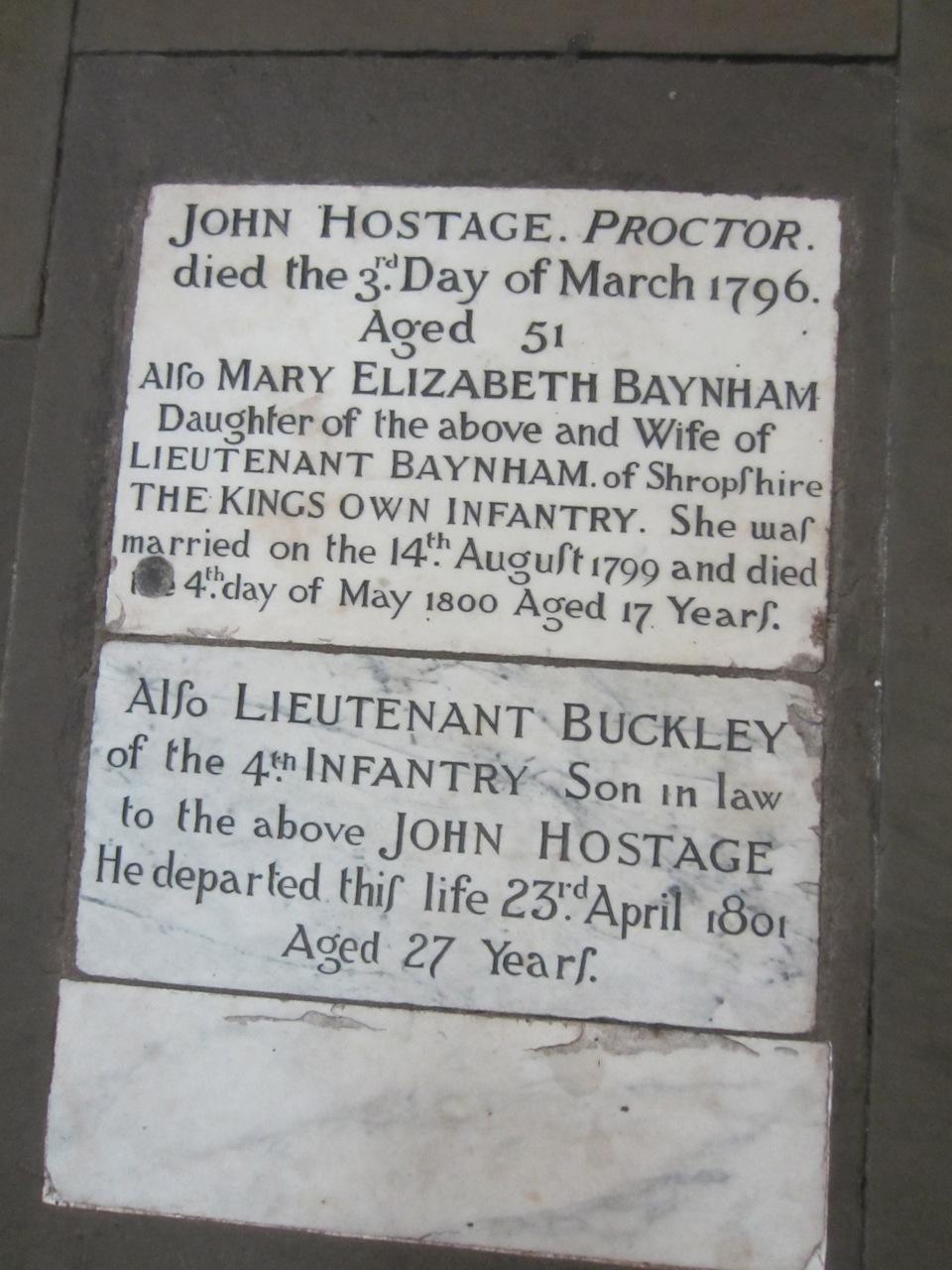 Mary Elizabeth <i>Hostage</i> Baynham