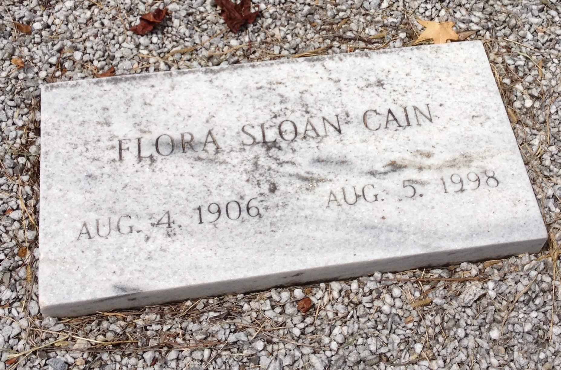 Flora <i>Sloan</i> Cain